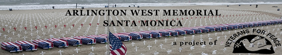 Arlington West at the Santa Monica Pier @ Beach Near Santa Monica Pier